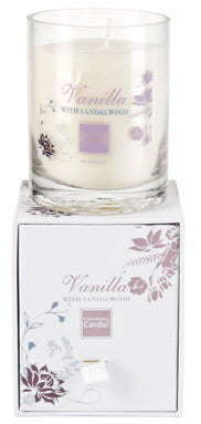 Sandalwood & Vanilla Boxed Candle