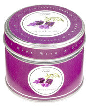 Traditional Lavender Tin Candle