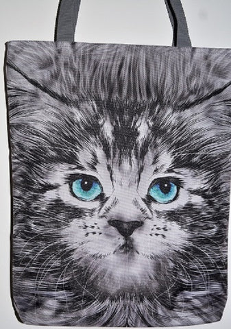 Blue Eyed Cat Bag
