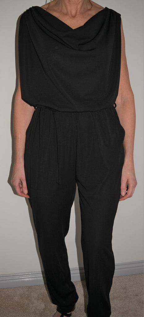 Black Jumpsuit from Paris