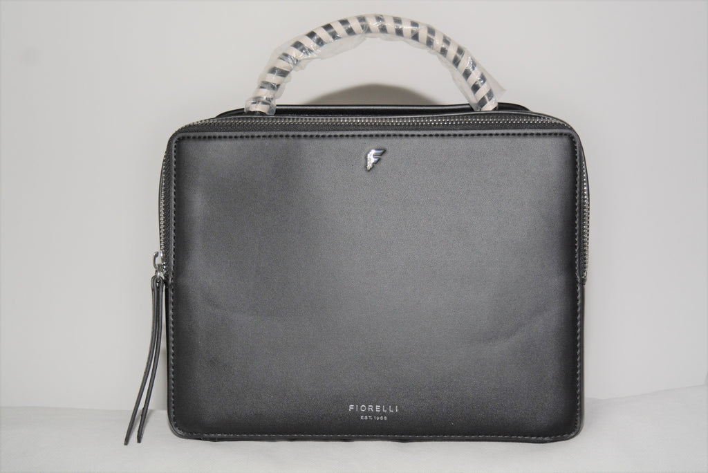 Rowan Black Boxy Crossbody by Fiorelli