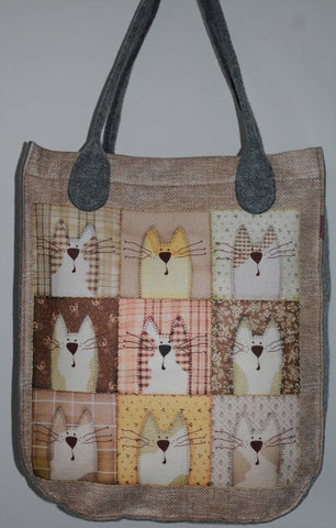 Fun Collection of Cats Bag