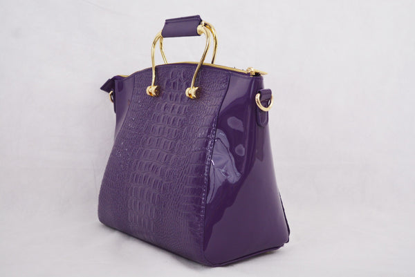 Purple Croc Grab Bag by LYDC