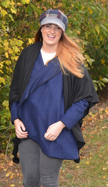 Handmade in Ireland Wool Bluebell Coat