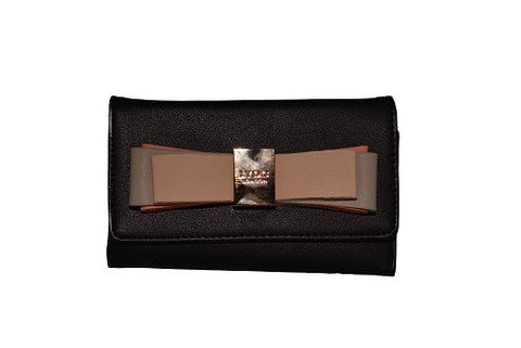 LYDC Black Bow Purse