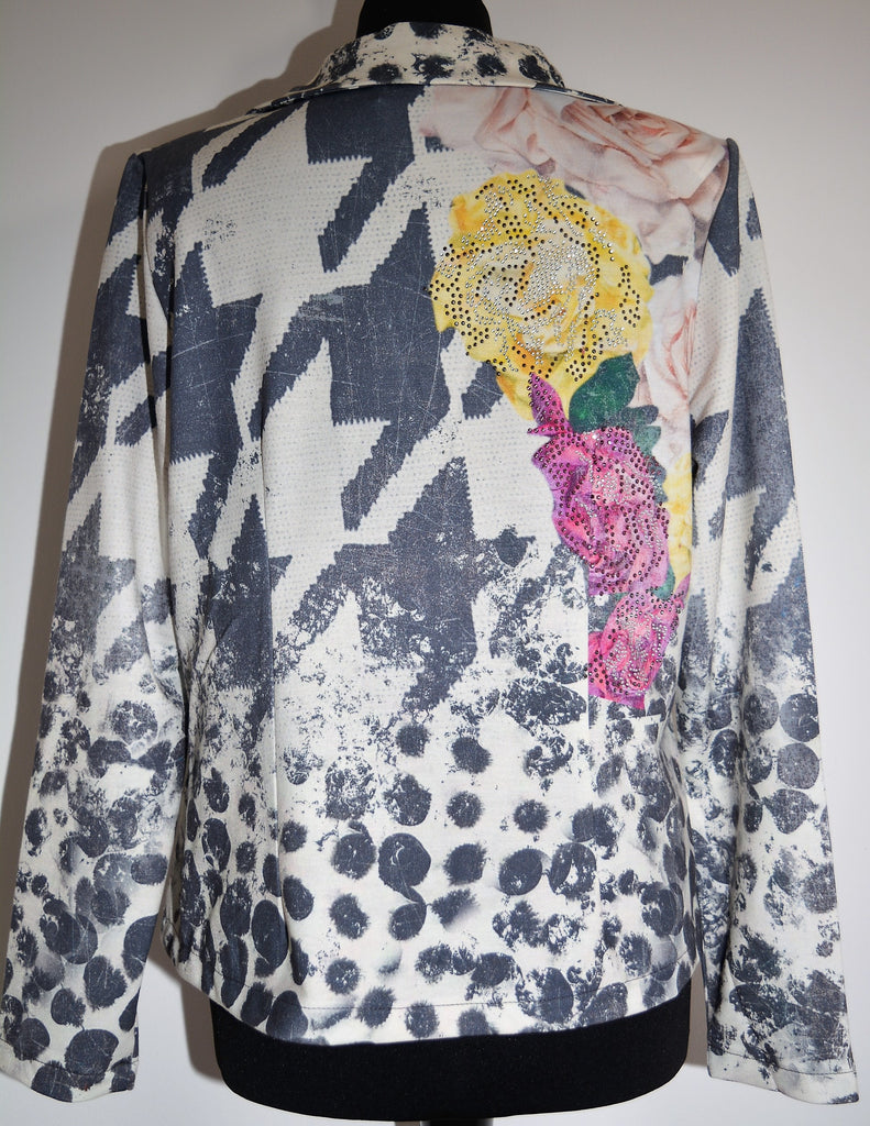 Yellow Rose Design Jacket