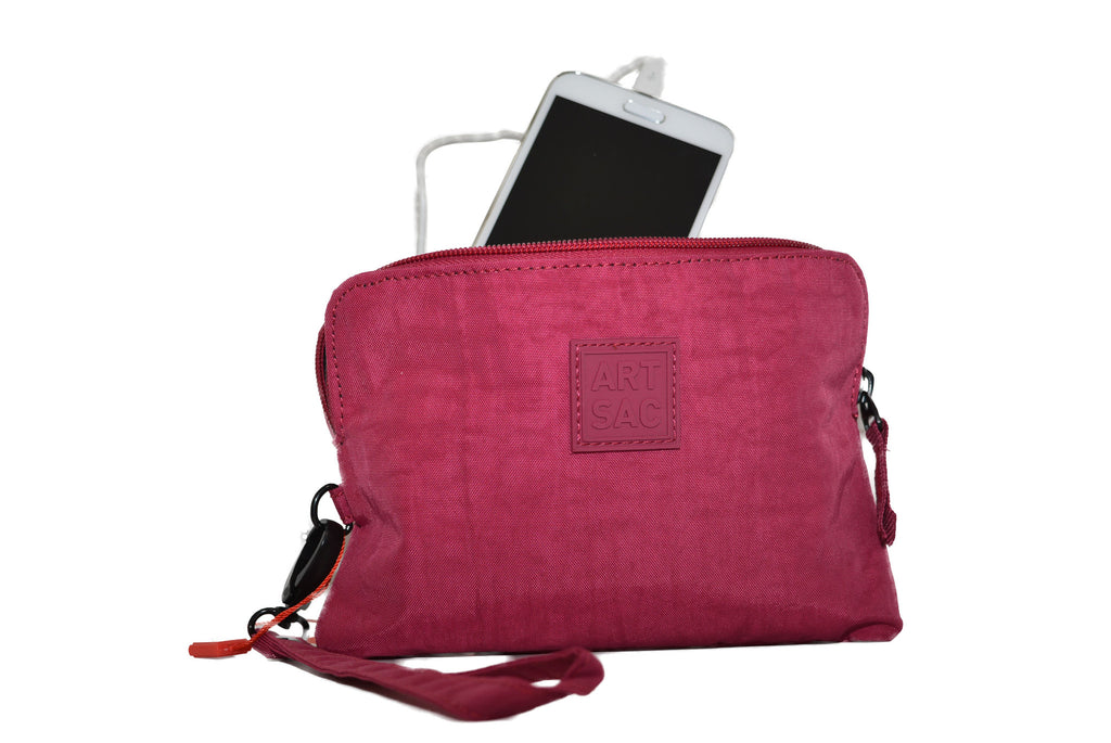 Plum Artsac Power Purse