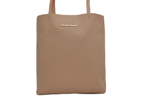 Luxury Tote in Peach by Claudia Canova
