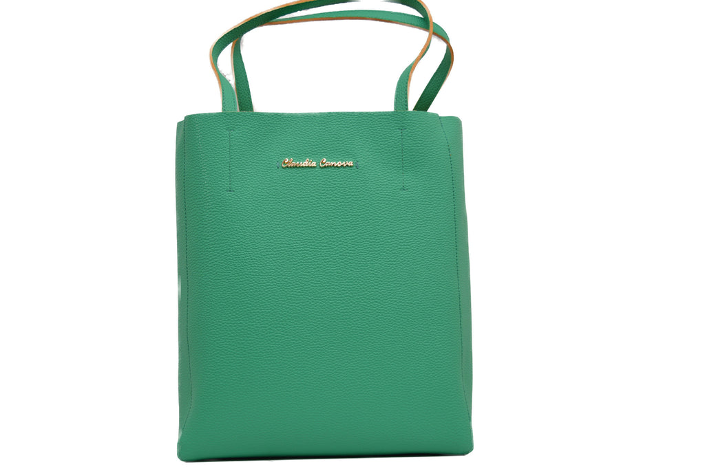 Simple Tote Bag in Summer Green by Claudia Canova