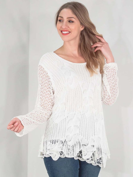 Crochet Style in Cream
