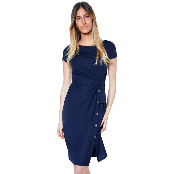 Dress from Paris in Navy