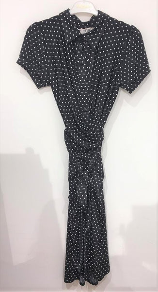 Black Spot Dress from Paris