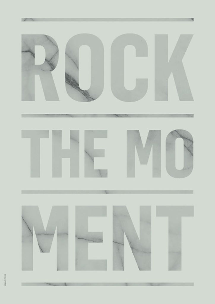 Rock The Moment fra I Love My Type, Green, A3