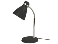 Leitmotiv bordlampe fra Present Time, Study, Metal, Sort