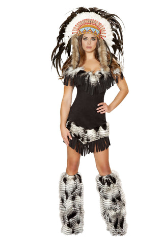 1pc Cherokee Princess - Black