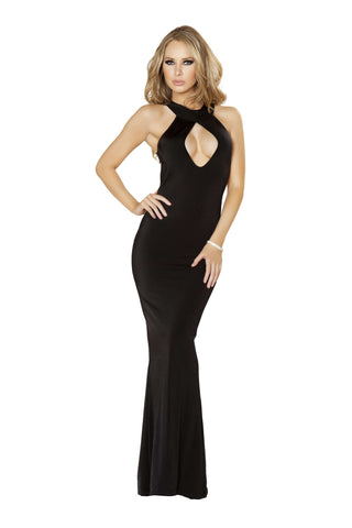 1pc Cutout Front & Side Detail w/ O-Ring Back - Black