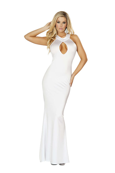 1pc Cutout Front & Side Detail w/ O-Ring Back - White