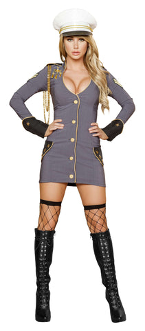1pc Military Mistress - Grey