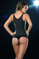 Latex Corset Body Shaper - Womens Fashion