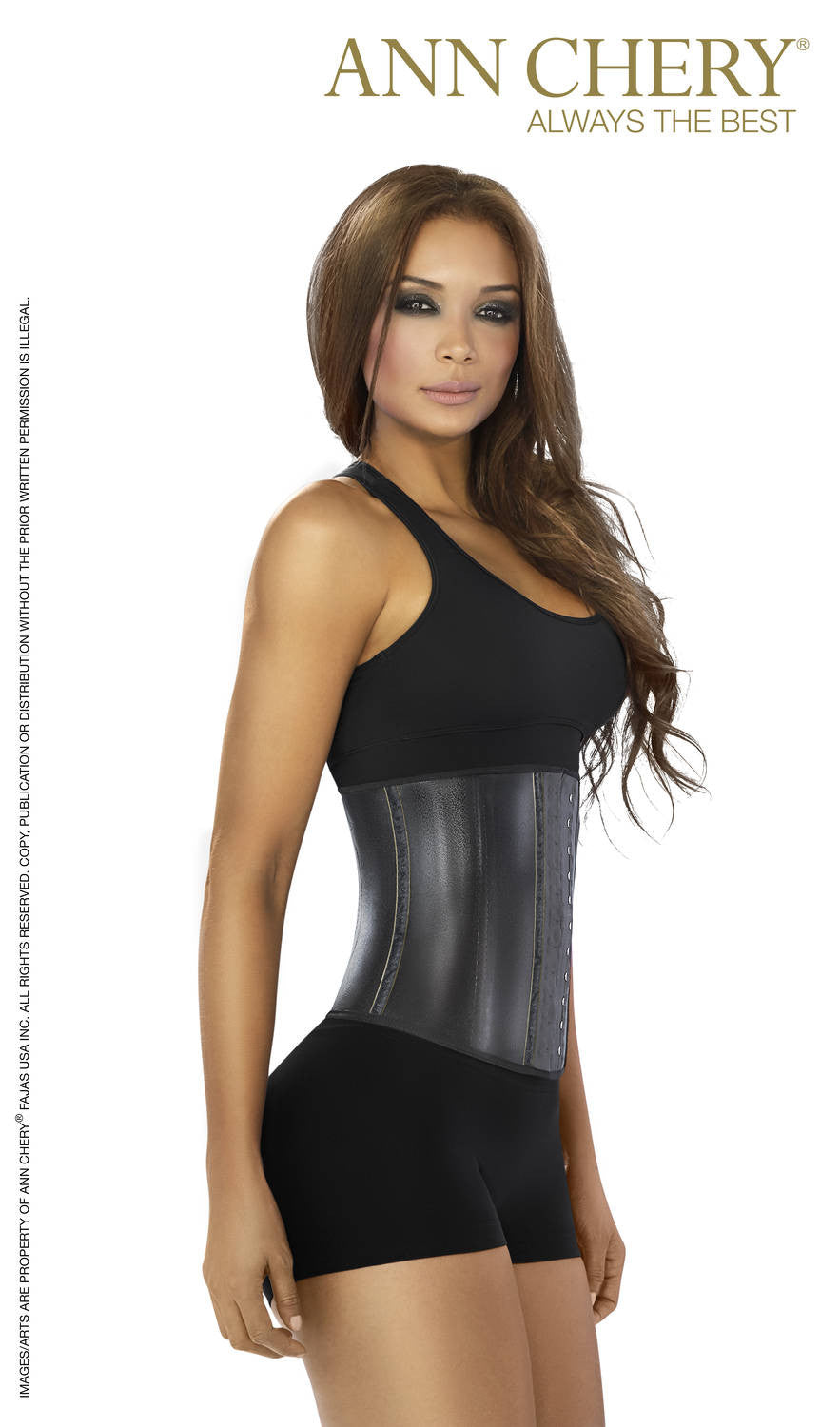 5c387e6fee7 Ann Chery Women Latex Metallic Edition Sports Waist Trainer 2039 –  utrendfashion.com