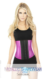 Latex Metallic Edition Sports Waist Trainer - Womens Fashion