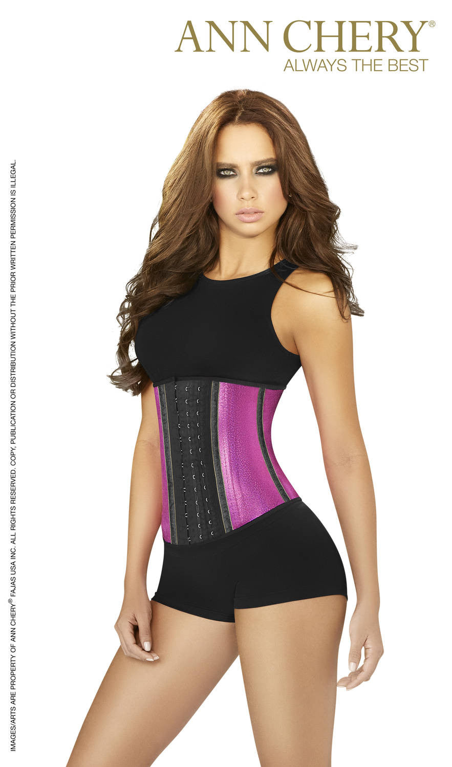 a77c22198e 3 Hooks Latex Metallic Edition Waist Cincher For Women - Fashion. Previous