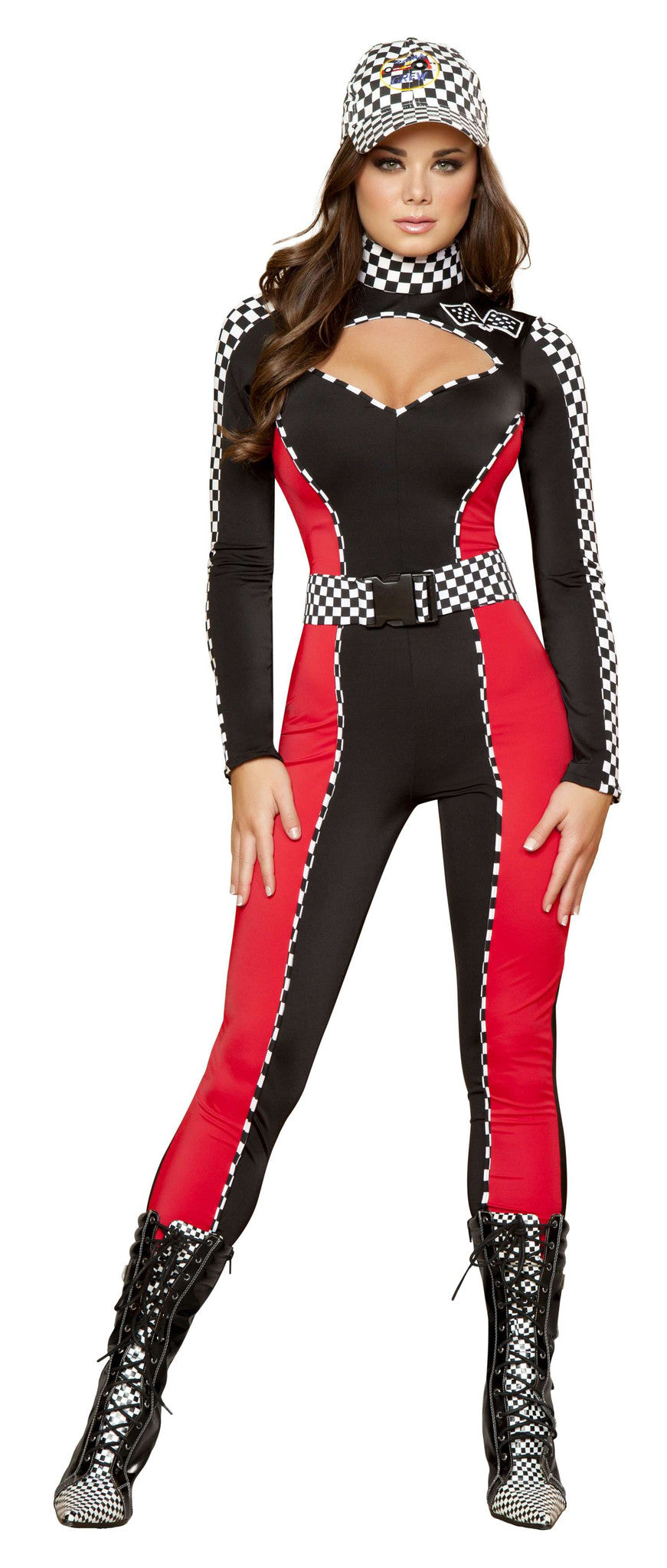 2pc Radiant Racer - Black/Red/White