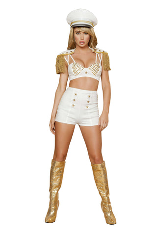2pc Sassy Sailor - White