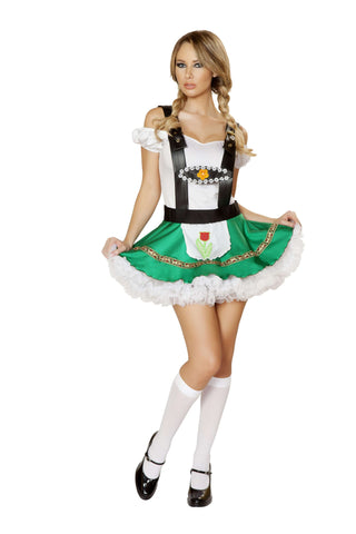 2pc Sexy Hoffbrau Lady - White/Green