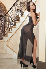 2Pc Coquette Gown  - Womens Fashion Lingerie