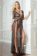 2Pc Sexy Delight Lingerie Gown   - Womens Fashion Lingerie