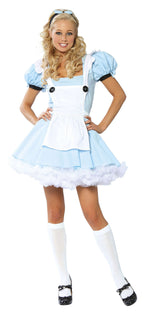 3Pc Alice Costume