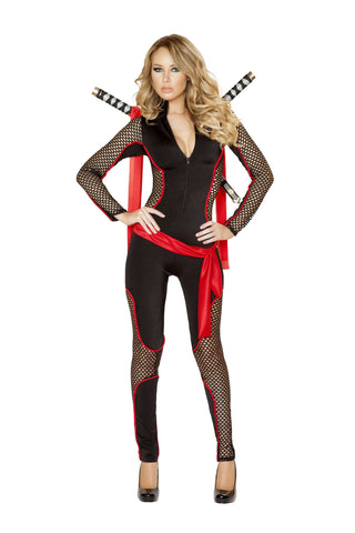 3pc Deadly Vixen - Black/Red