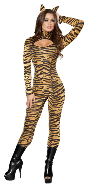 3pc Sassy Tigress - Black/Orange