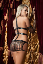 3Pc Midnight Straps - Womens Fashion Lingerie