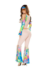 4824 - Roma Costume 4pc Groovy Hippie