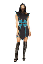 4840 - Roma Costume 4pc Emperors Guard Ninja Assassin Mortal Kombat Sub-Zero