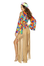 4881 - Roma Costume 2pc Hippie Princess Retro