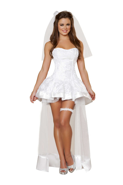 4pc Beautiful Bride - White