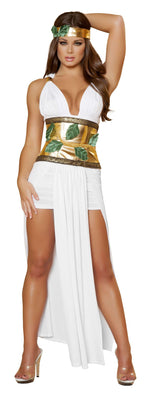 4pc Divine Goddess - White/Gold