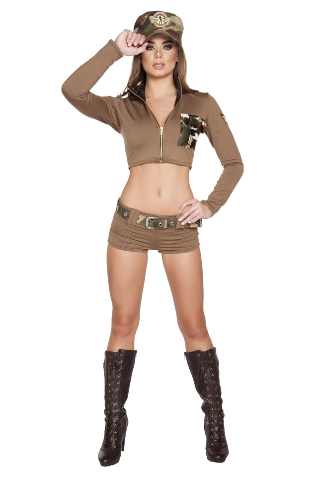 4pc Sexy Soldier Babe