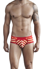 Navajo Code Piping Brief - Mens Fashion