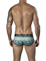 Background Piping Brief - Mens Fashion