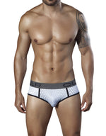 Hexagon Piping Brief - Fashion