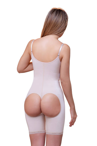 Amelie Open Bottom Mid Thigh Shaper - Fashion