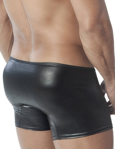 Leater-Zipper Boxer Briefs - Fashion