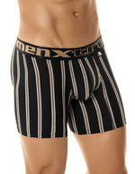 Athleto Stripe Boxer Brief