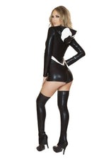J Valentine CA106 Web Spinner Hooded Romper Costume