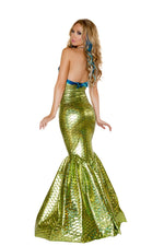 J Valentine CC201 Sirena The Mermaid Costume *ASSORTED COLOR SHELL BRA INCLUDED*
