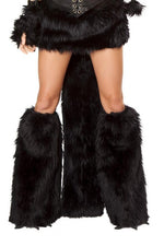 J Valentine CS120 Black Cat Claw Legwarmers